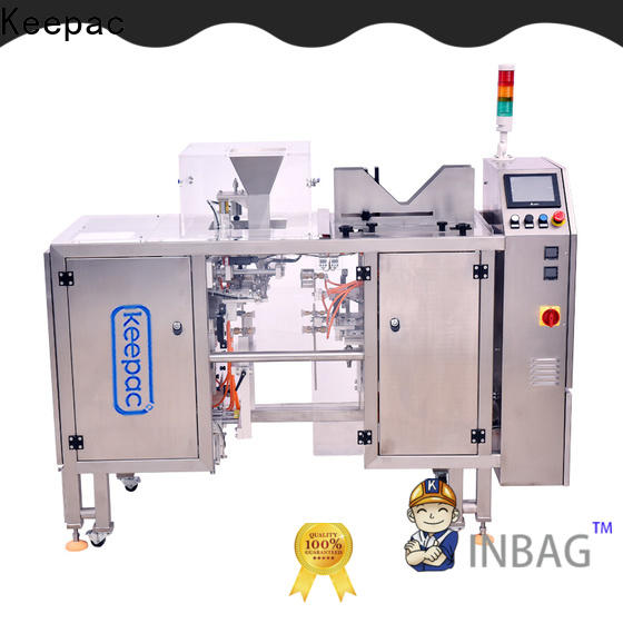 Custom snack food packaging machine different sized company for pre-openned zipper pouch