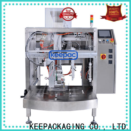 Keepac multi bag format chips packaging machine Suppliers for pre-openned zipper pouch