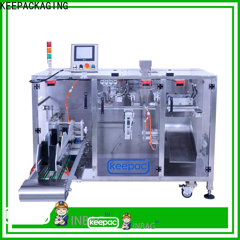 Keepac Wholesale milk powder packing machine Suppliers for standup pouch