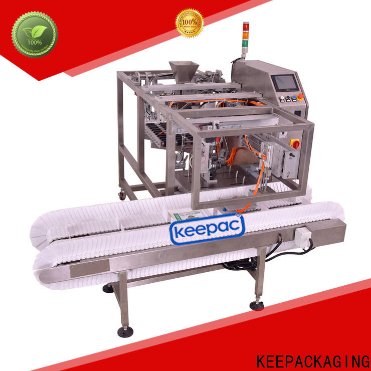 Keepac mini grain packing machine factory for pre-openned zipper pouch
