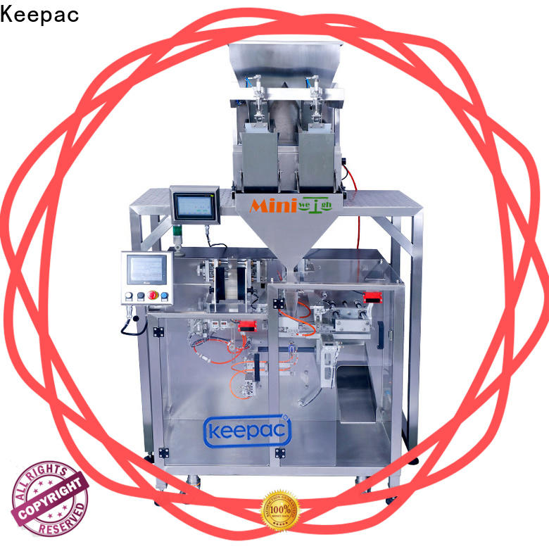 Keepac 8 inches horizontal form fill seal machine for business for standup pouch