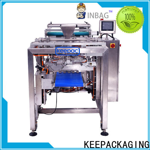 Keepac Custom polythene cover packing machine factory for food