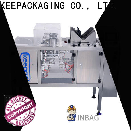 Keepac multi bag format food packaging machine Suppliers for pre-openned zipper pouch