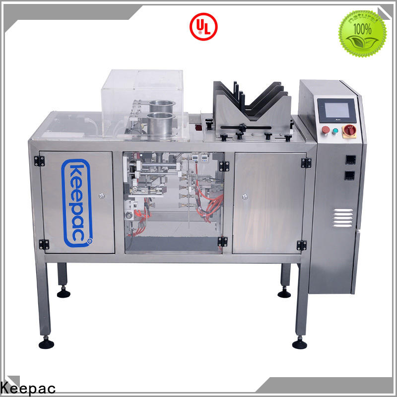 High-quality automatic grain packing machine multi bag format manufacturers for pre-openned zipper pouch
