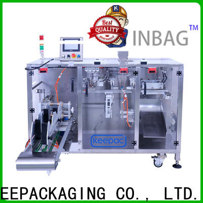 Top powder pouch packing machine 8 inches company for standup pouch
