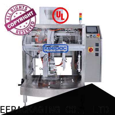 Keepac mini food packaging machine for business for pre-openned zipper pouch