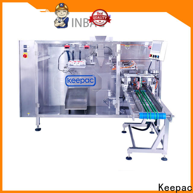 High-quality automatic pouch packing machine quick release factory for zipper bag