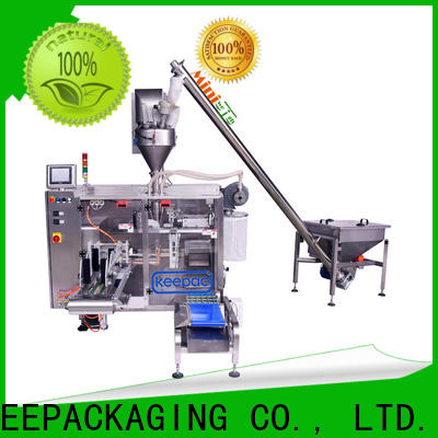 New powder pouch packing machine staight flow design factory for standup pouch
