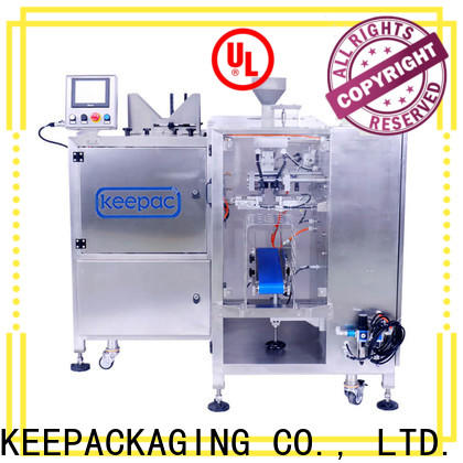 Keepac Best chips packaging machine company for pre-openned zipper pouch