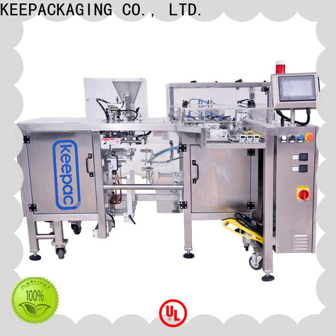 Keepac different sized small food packaging machine Suppliers for beverage