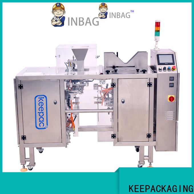 Wholesale grain packing machine mini factory for pre-openned zipper pouch