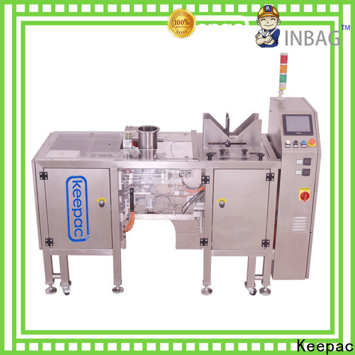 Keepac multi bag format chips packaging machine manufacturers for pre-openned zipper pouch