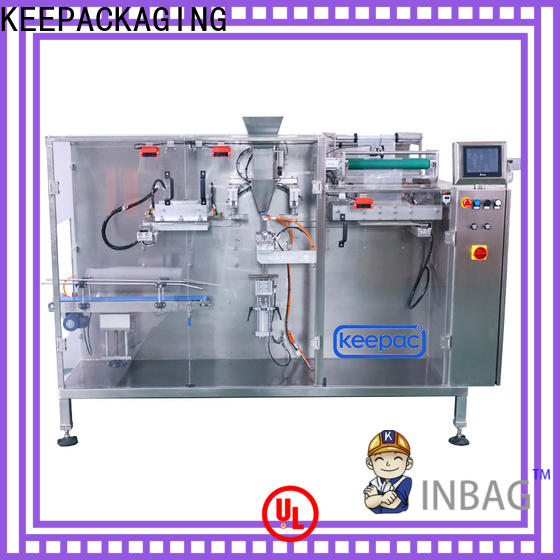 Keepac multi bag format dry food packing machine company for food