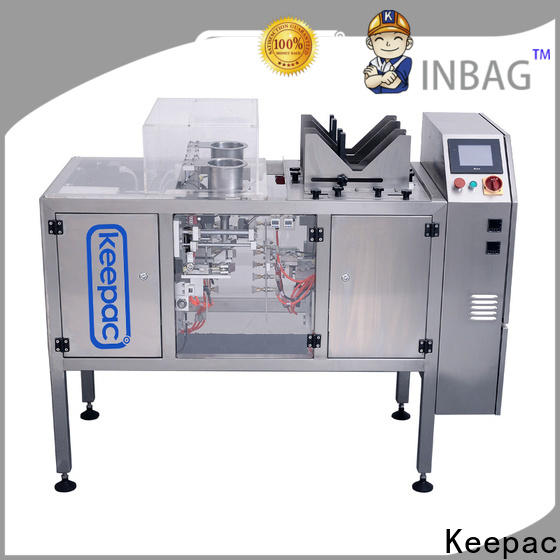 Keepac mini snack food packaging machine company for beverage