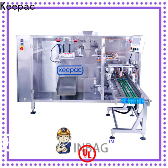 Keepac Wholesale small pouch packing machine for business for 3 sides sealed pouch