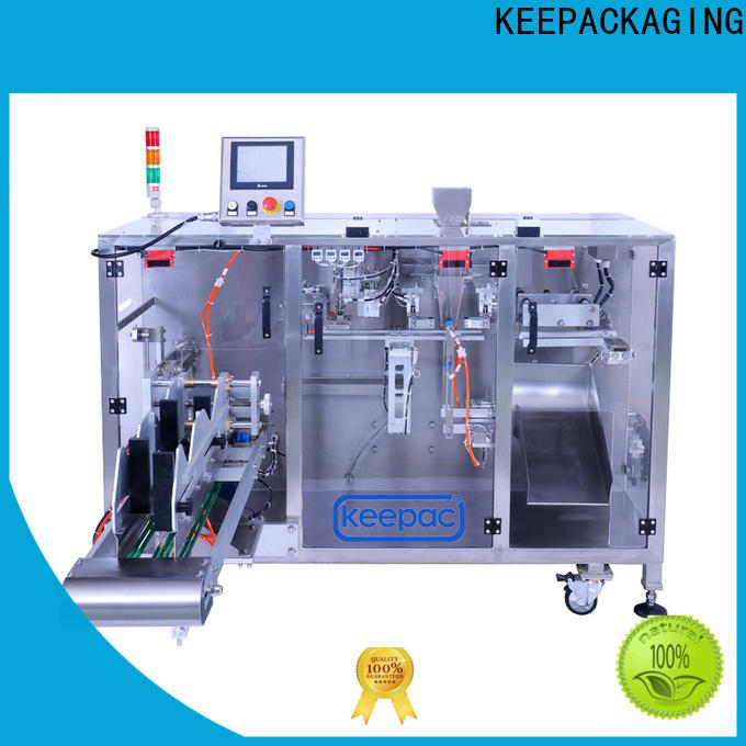 Keepac Latest pick fill seal machine Supply for food
