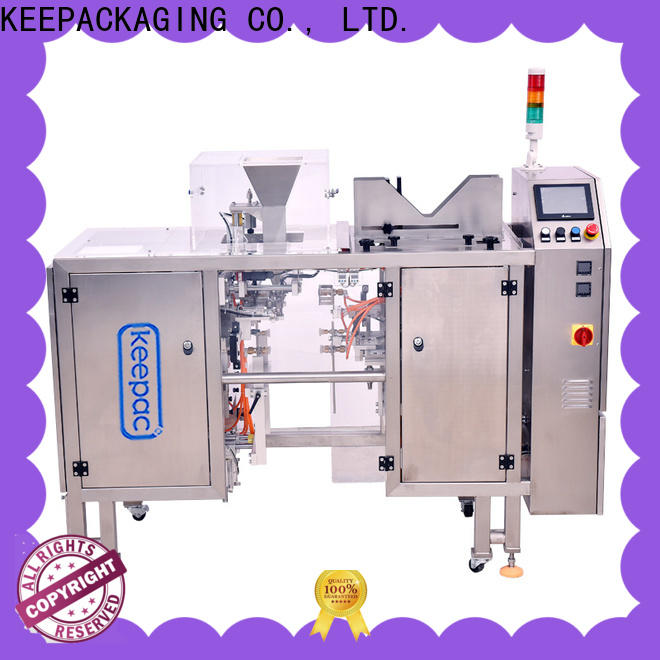 Best chips packaging machine different sized Suppliers for pre-openned zipper pouch