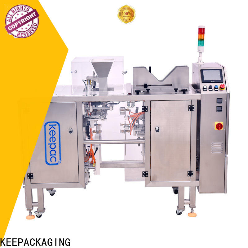 Keepac Latest snack food packaging machine company for beverage