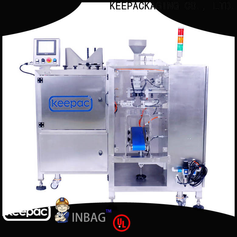Keepac Custom grain packing machine factory for pre-openned zipper pouch