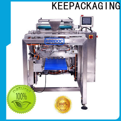 Keepac PE tubular bottle sealer machine Supply for zipper bag