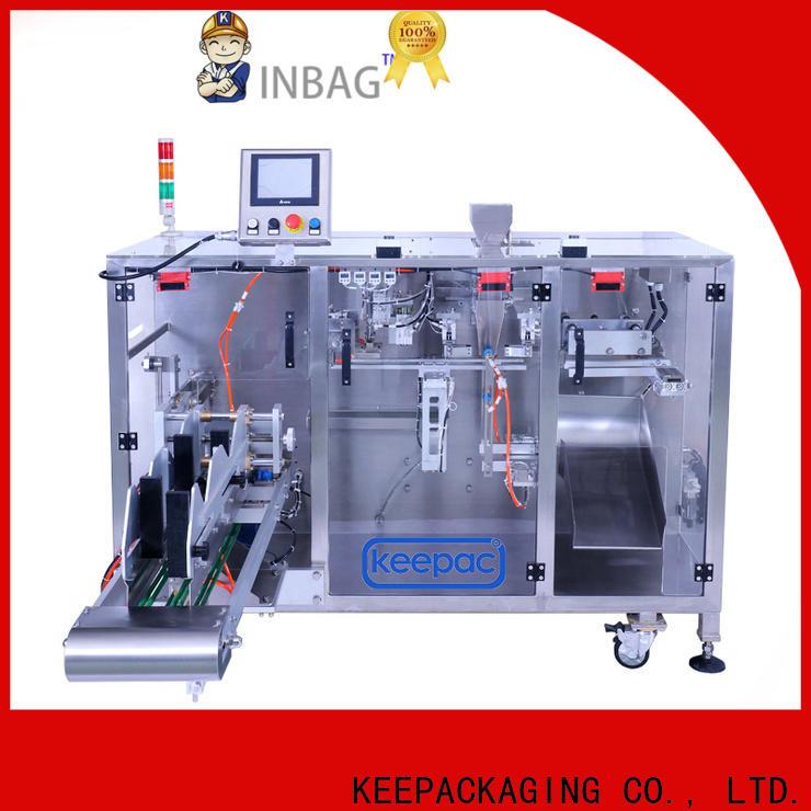 Top seal packing machine duplex factory for zipper bag