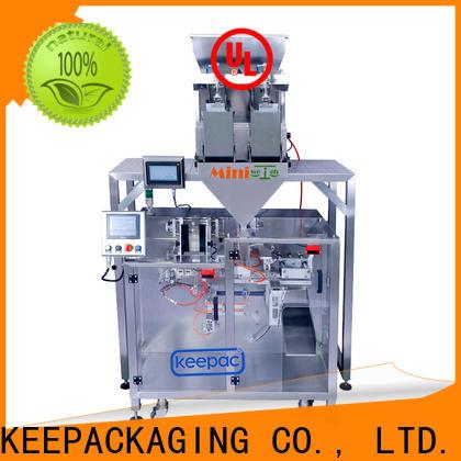 Keepac linear powder pouch packing machine factory for zipper bag