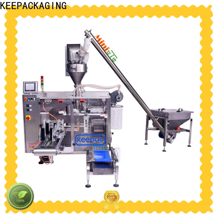Keepac Top form fill seal machine manufacturers for standup pouch
