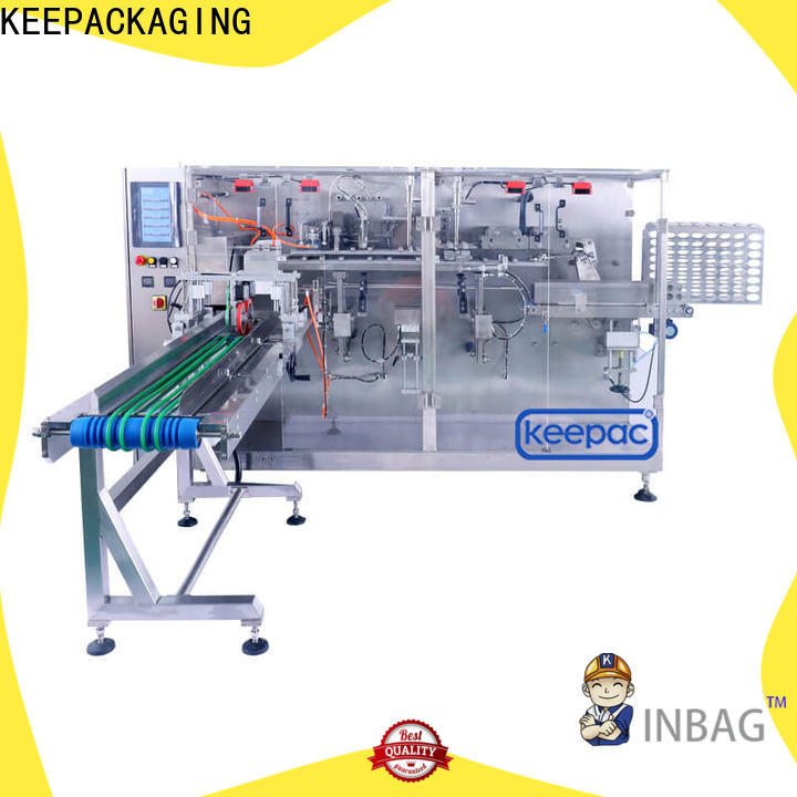 Keepac linear packaging machine design Supply for commodity