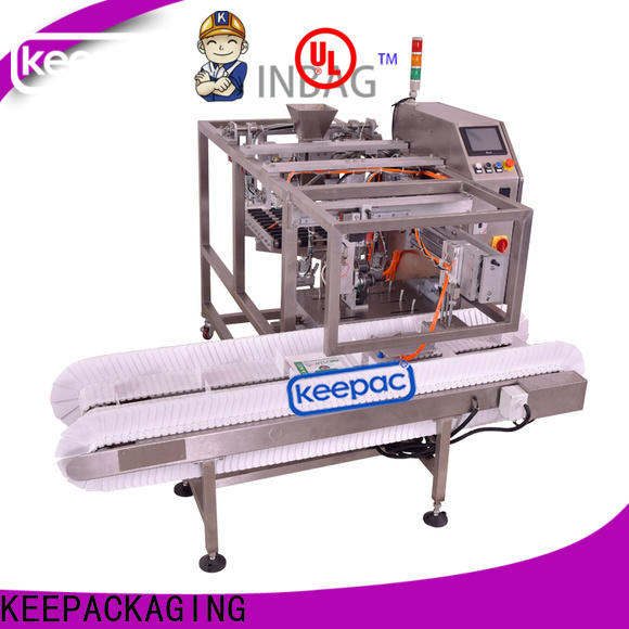 Keepac multi bag format grain packing machine for business for pre-openned zipper pouch