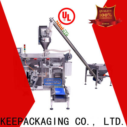 Keepac staight flow design milk powder packing machine company for food
