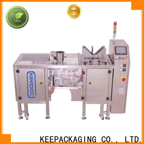 Keepac High-quality automatic grain packing machine for business for pre-openned zipper pouch