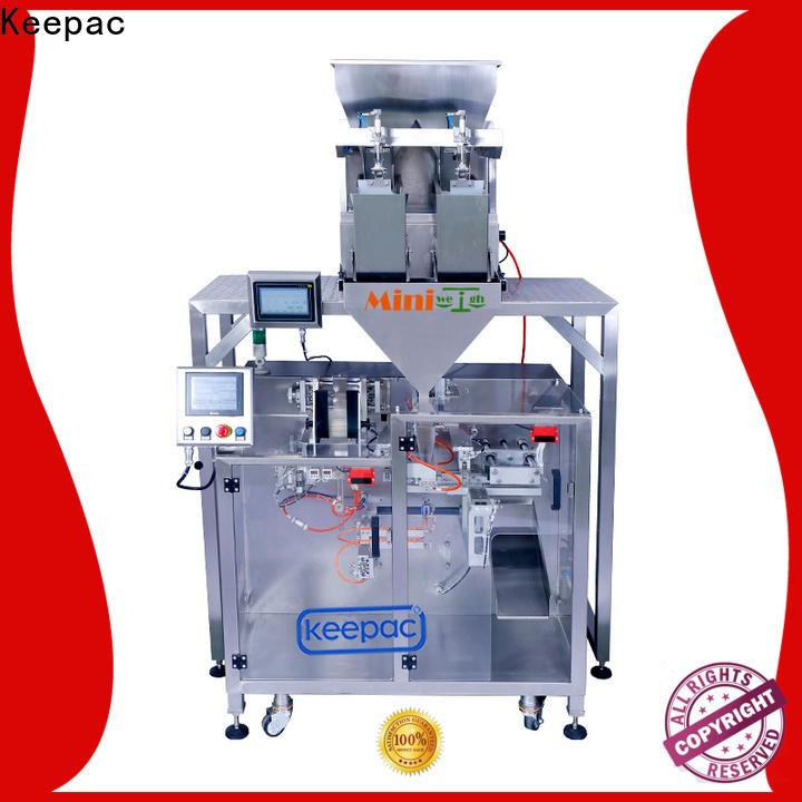 Keepac staight flow design automatic powder packing machine for business for zipper bag