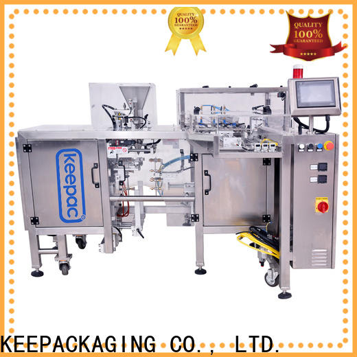 Keepac multi bag format snack food packaging machine for business for pre-openned zipper pouch