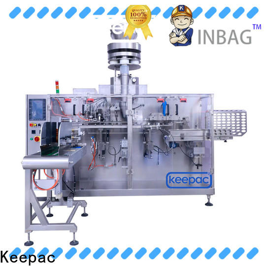 Keepac staight flow design horizontal packaging machine Supply for food