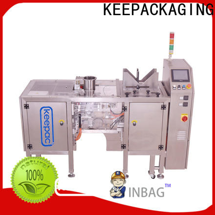 Keepac Top automatic grain packing machine Suppliers for pre-openned zipper pouch