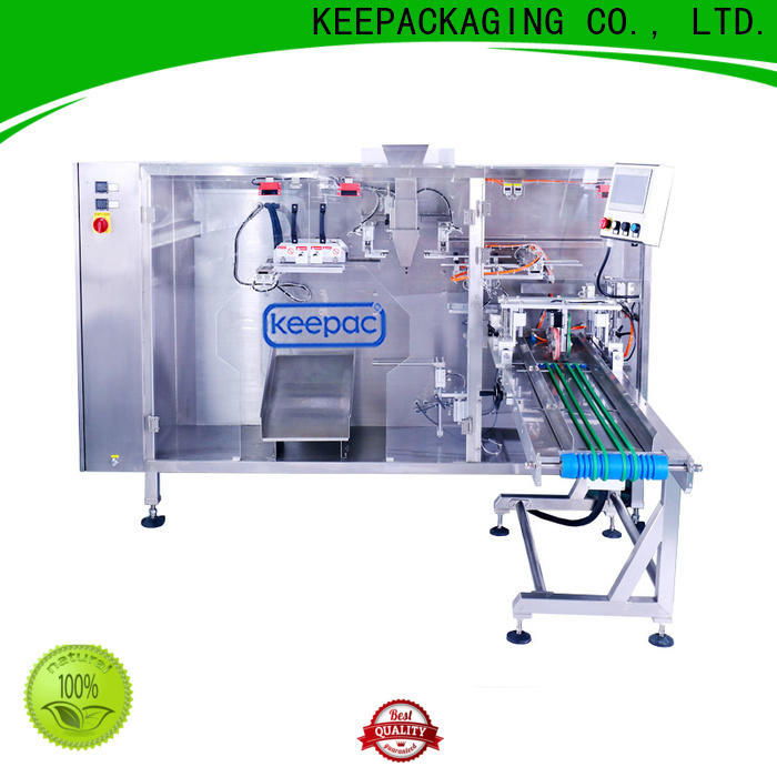 Keepac quick release automatic pouch packing machine company for standup bag