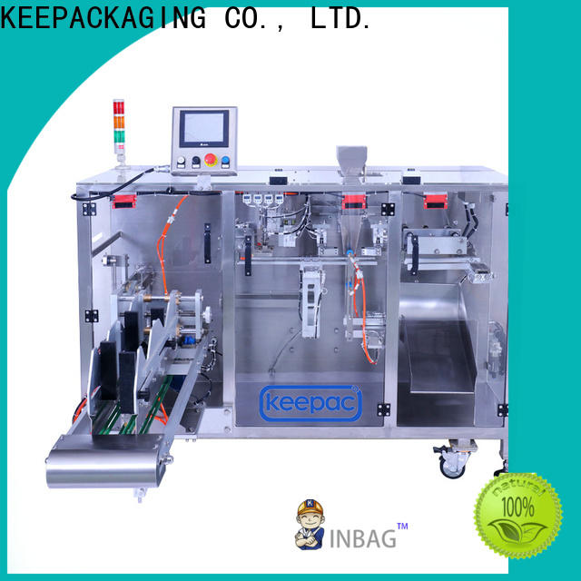 Keepac duplex seal packing machine factory for standup pouch