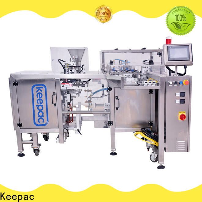 Keepac stainless steel 304 doypack machine manufacturers for beverage