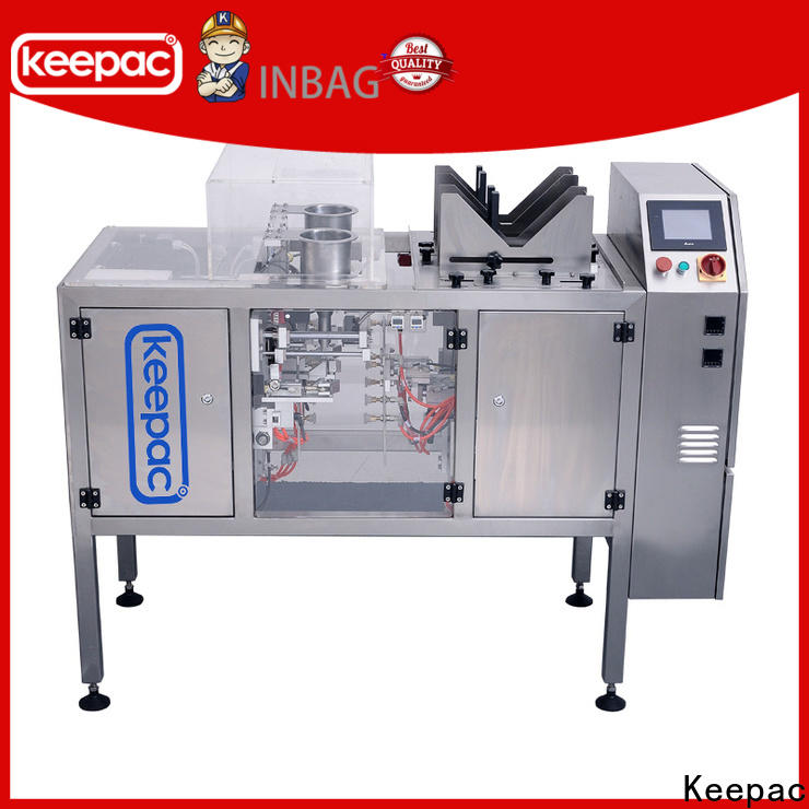 Keepac different sized snack food packaging machine factory for pre-openned zipper pouch