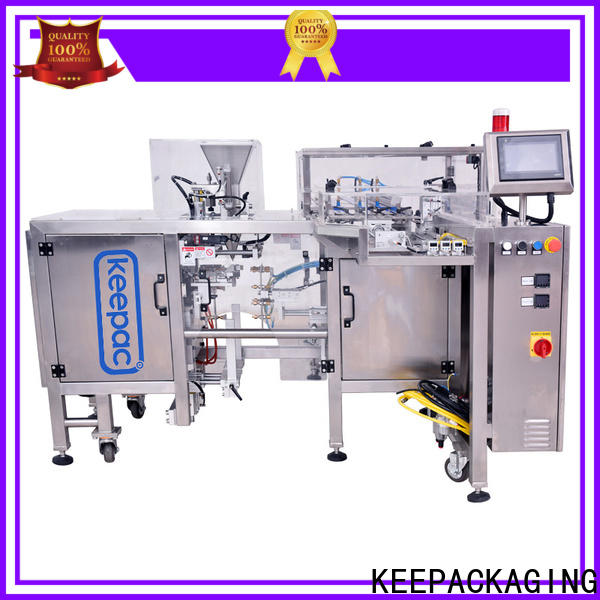 Keepac quick release mini doypack machine company for beverage