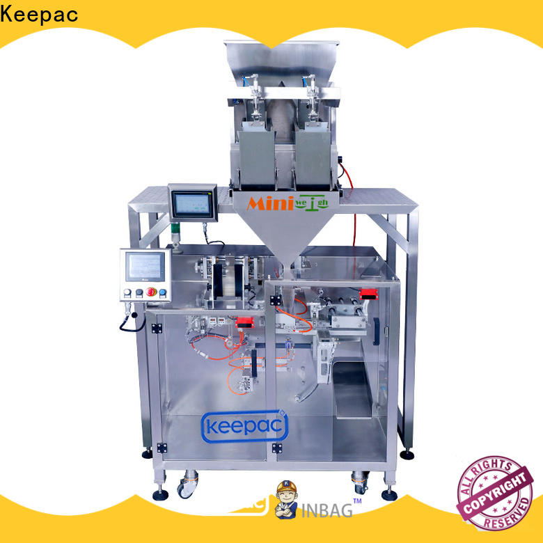 Keepac New horizontal form fill seal machine Suppliers for food