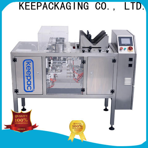 Keepac stainless steel 304 grain packing machine manufacturers for beverage
