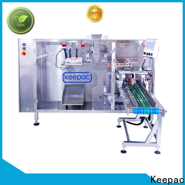 Keepac quick release small pouch packing machine company for 3 sides sealed pouch