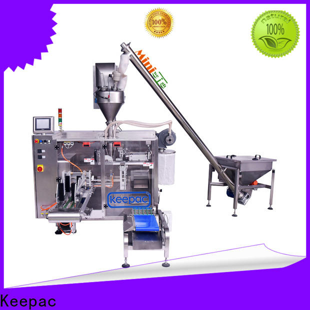 Keepac Latest form fill seal machine manufacturers for standup pouch