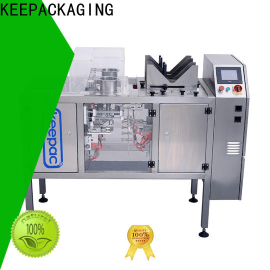 Keepac different sized small food packaging machine Suppliers for pre-openned zipper pouch