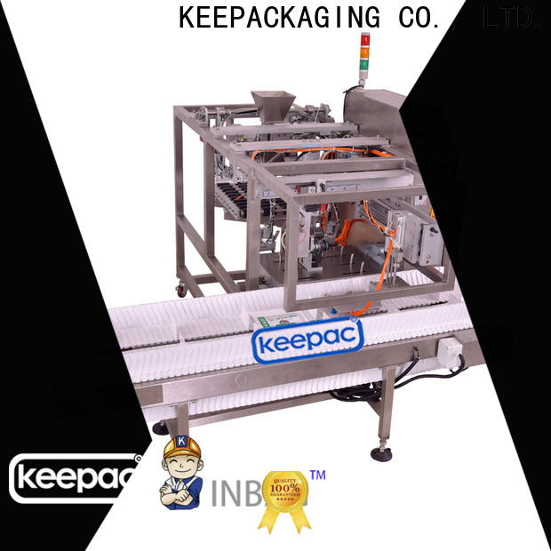 Keepac Top grain packing machine factory for pre-openned zipper pouch