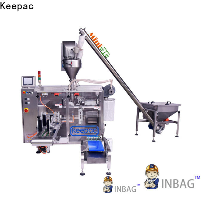 Keepac High-quality powder pouch packing machine manufacturers for standup pouch
