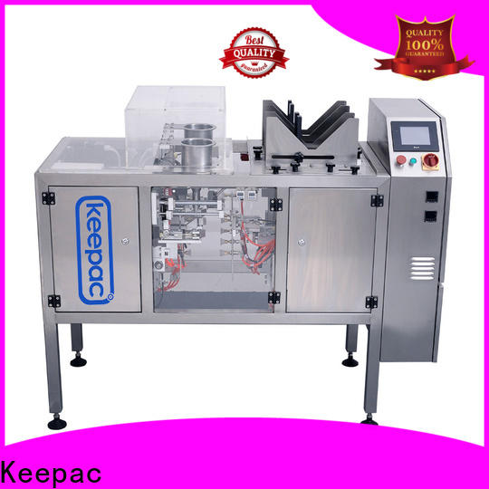 Keepac Custom food packaging machine company for pre-openned zipper pouch