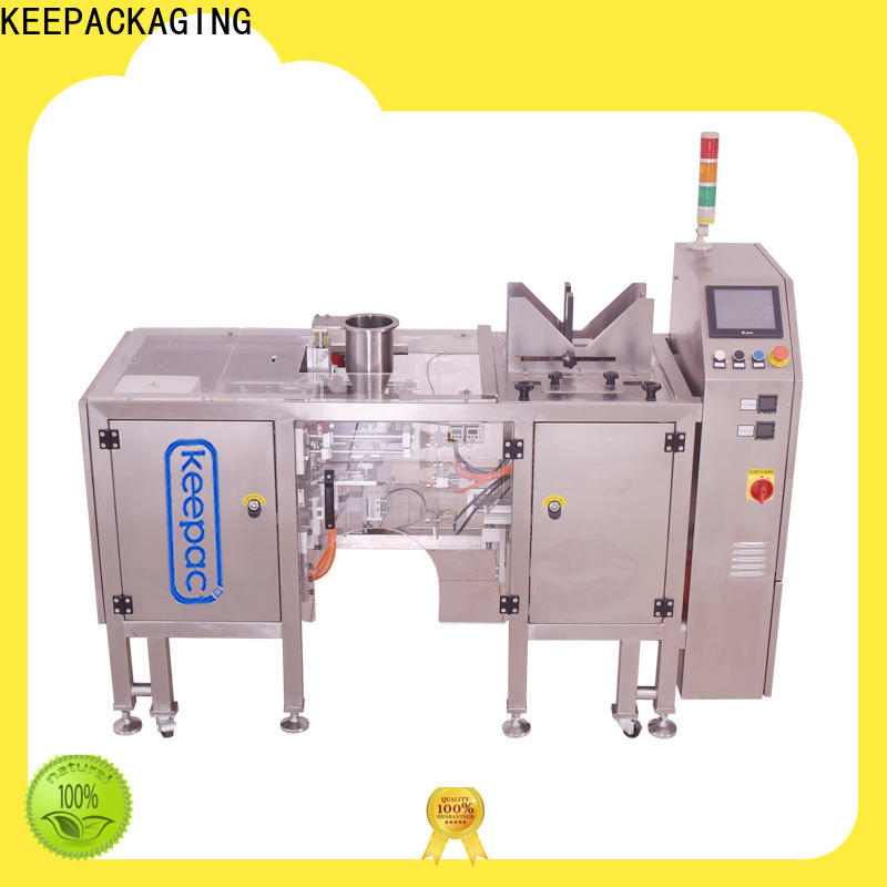 Keepac stainless steel 304 automatic grain packing machine company for food