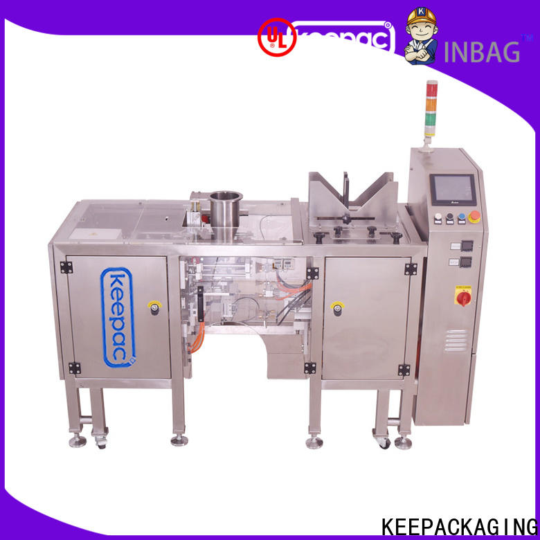 Keepac Custom chips packaging machine for business for beverage